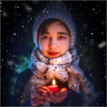 XVIDIA candlelight christmas time